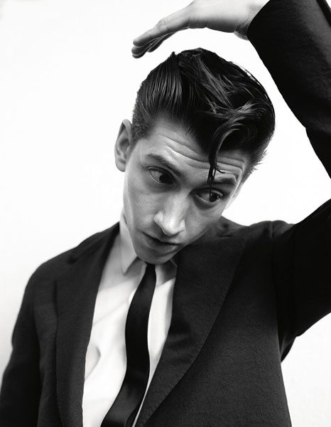 Alex Turner Hairstyle