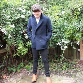 Topman-Pea-Coat-ASOS-Longline-Grandad-Collar-Shirt-Frank-Wright-Boots