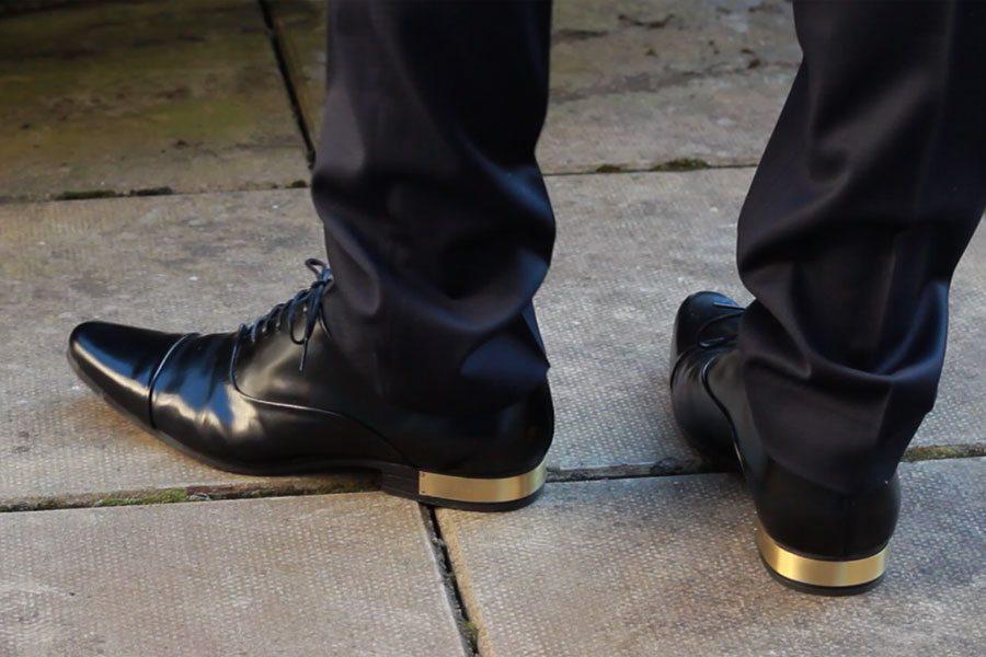 Wedding-Formal-Wear-Robin-James-The-Utter-Gutter-Gold-Heel-Shoes