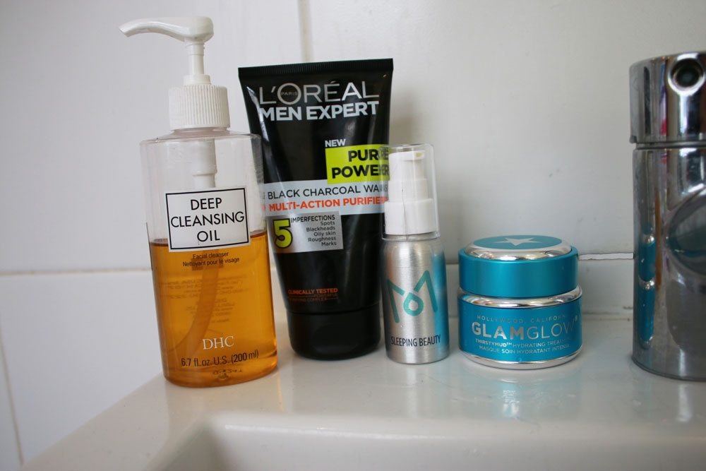 Skincare-Routine-Robin-James-The-Utter-Gutter-Evening