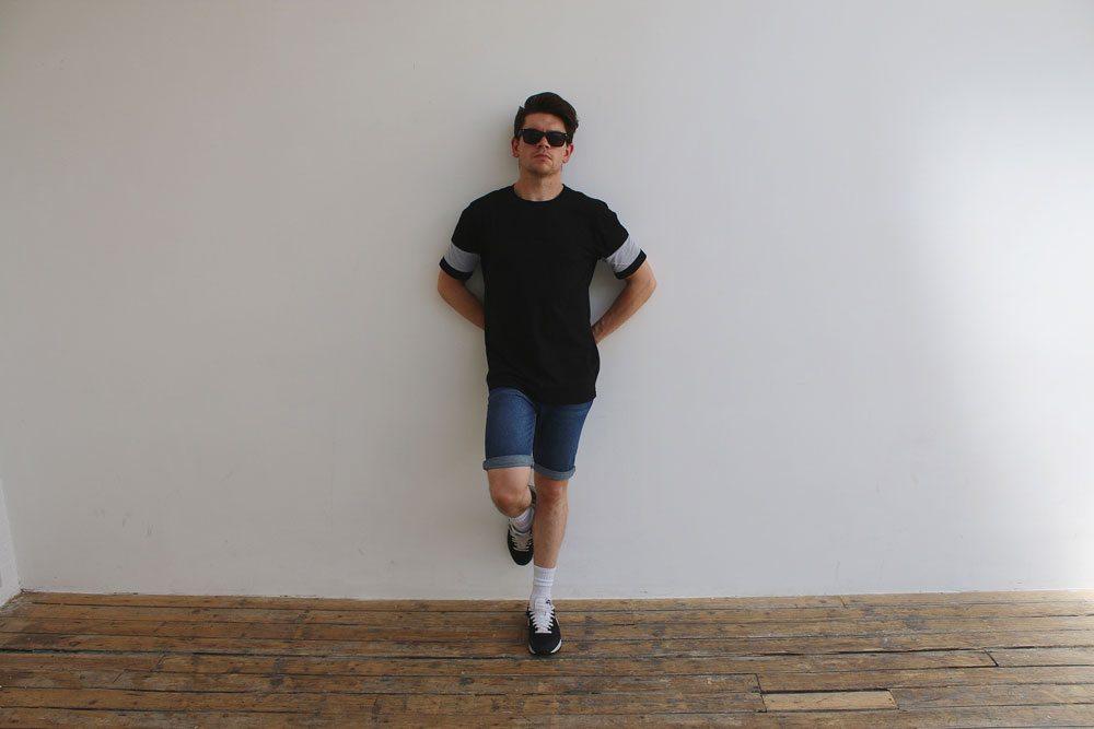 2-Dark-Wash-Slim-Fit-Denim-Shorts-Topman