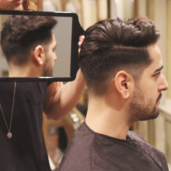 Men's Haircut and Style | Undercut Quiff