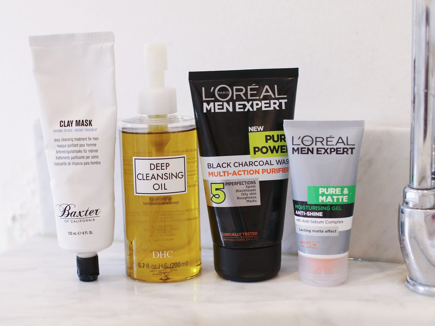 Best facial products for oily skin think
