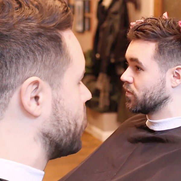 Men's Fade Haircut | For Curly Hair