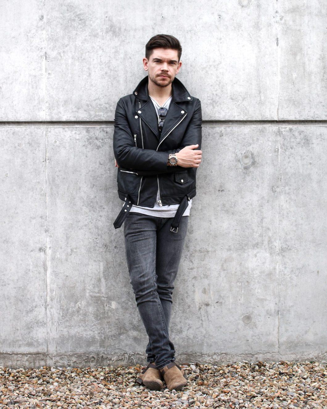 Best Leather Jacket ASOS