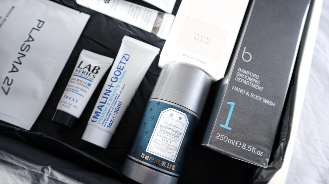 Mr Porter men's Christmas grooming box