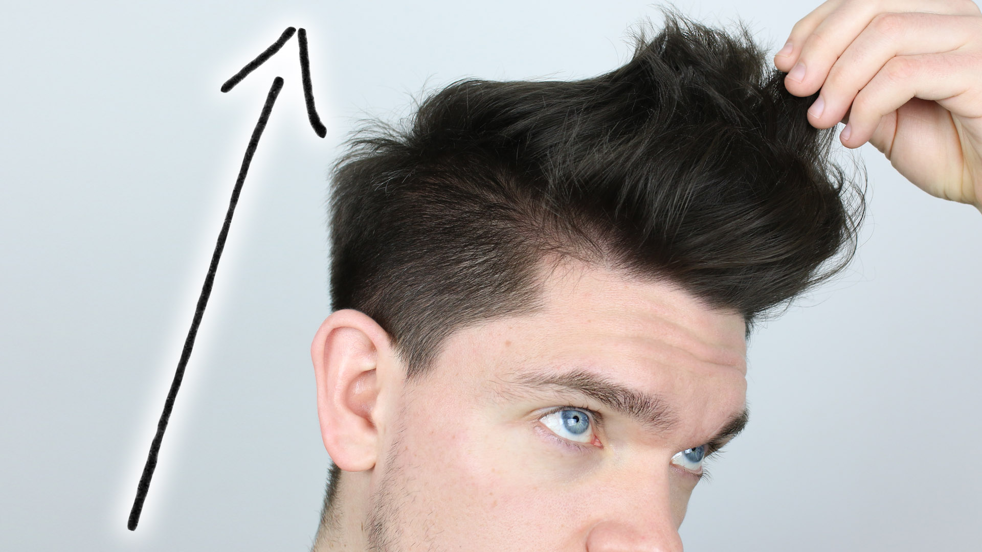 how to keep hair up all day men