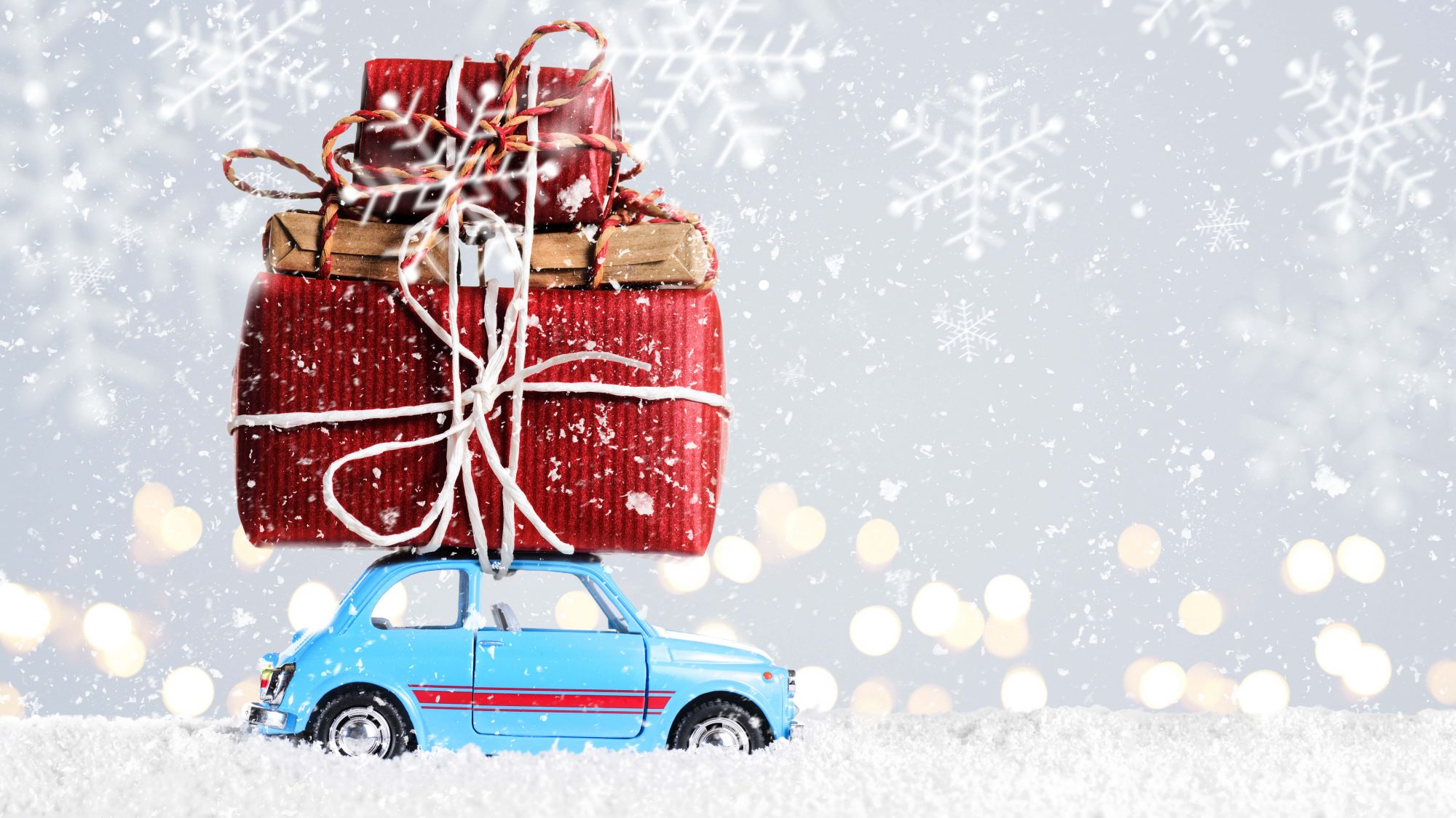 Christmas sale car presents