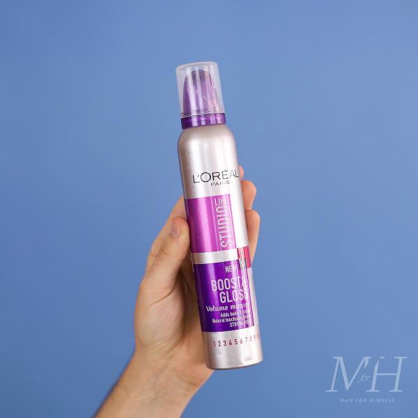 L'Oréal Studio Line Boost & Gloss Volume Mousse