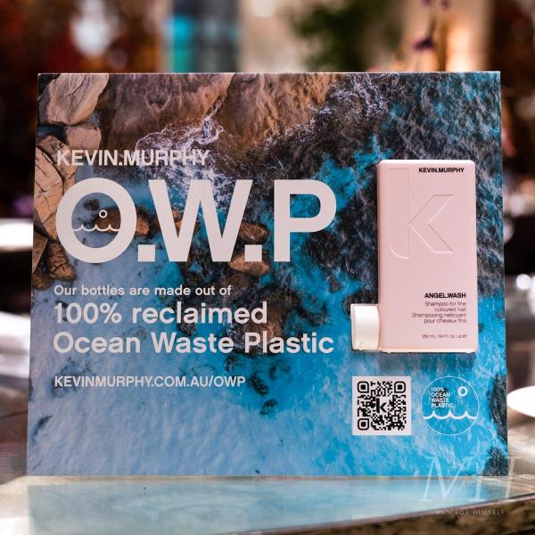 Kevin Murphy Leads The Way In Recycled Packaging