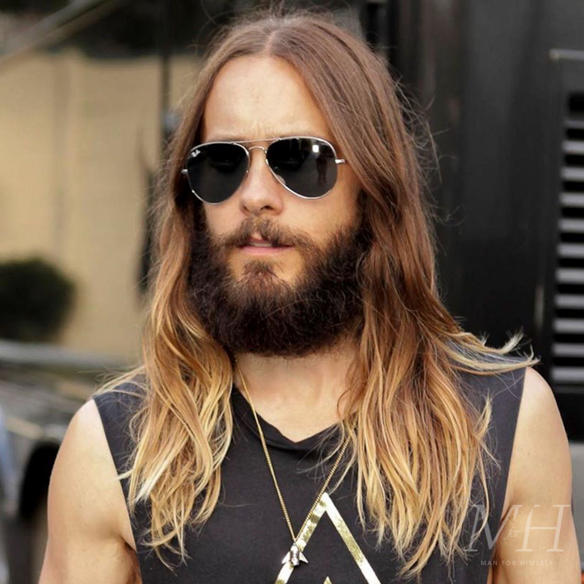 Jared Leto: Long And Textured  Man For Himself