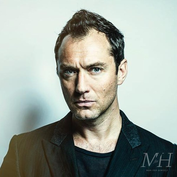 Jude Law: Medium Length With Receding Hairline