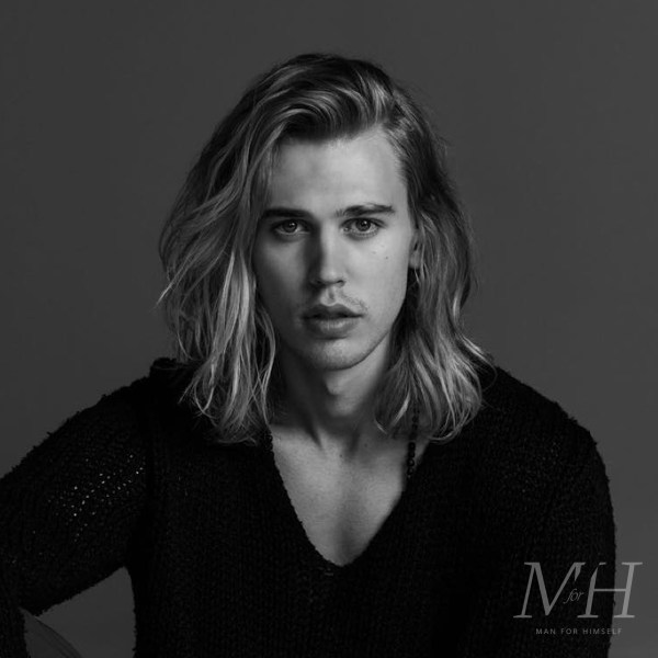 Austin Butler: Long Beachy Hairstyle