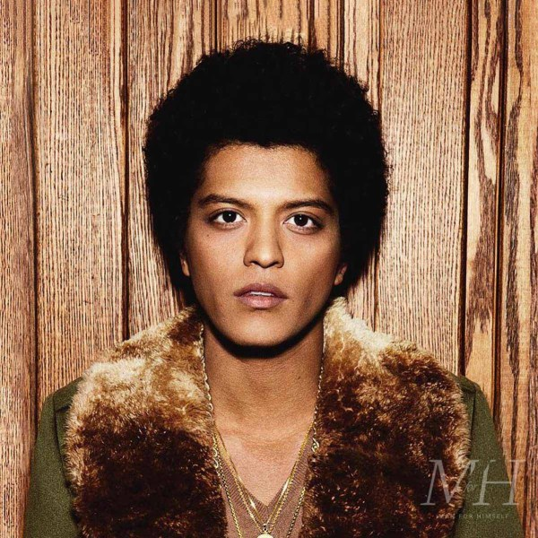 Bruno Mars: Long Afro Hairstyle