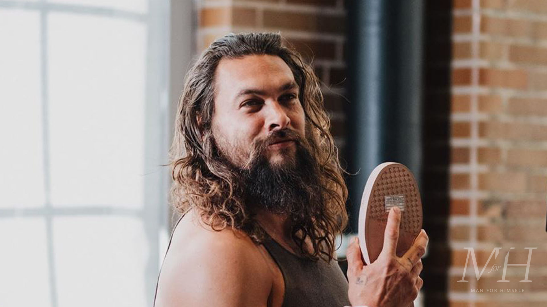 Jason Momoa Long Hair With Ombre Dye Man For Himself