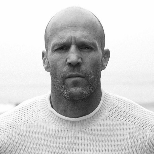 Jason Statham: Shaved Head With Receding Hairline
