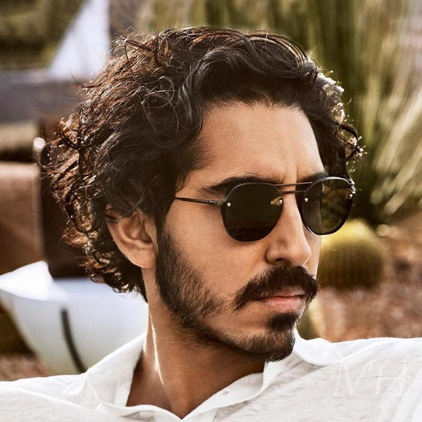 Dev Patel: Grown-Out Wavy Hairstyle