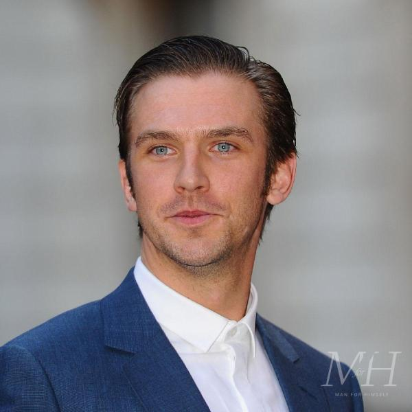 Dan Stevens: Slicked Back Medium Length Hairstyle