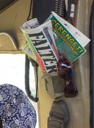 Falter Zeitung auf Safari in Tansania-2
