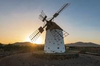 windmühle u Sonnenaufgang El Cotillos_1-2