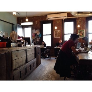 Swallow Cafe Bushwick by angieskarenstedt
