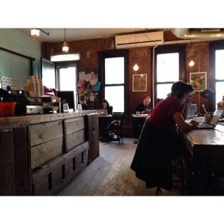 Swallow Cafe Bushwick by angieskarenstedt