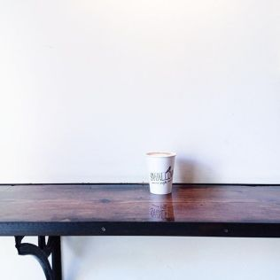 Swallow Cafe Williamsburg Brooklyn Standing counter - photo by Kira LePine-Williams