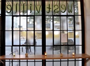 Westville Bar Manhattan Window table