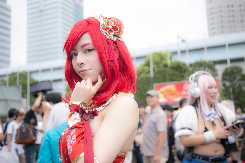 Comiket 92 Love Live! Cosplay Collection | Maki Nishikino (China awakening) cosplay
