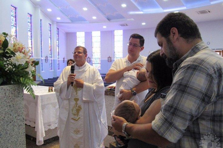 Convite para os Padrinhos | Batizado do Bebê