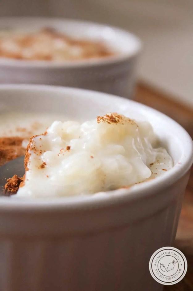 Receita de Arroz Doce - um clássico delicioso para servir na sua Festa Junina.