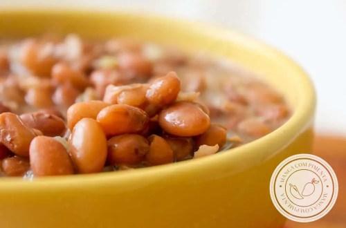 Aprenda a como fazer Feijão em Casa - receita caseira para o dia a dia!