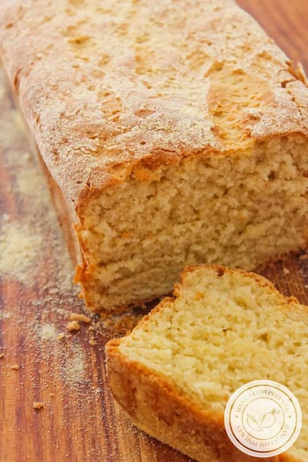 Pão de Fubá - para um lanche delicioso!