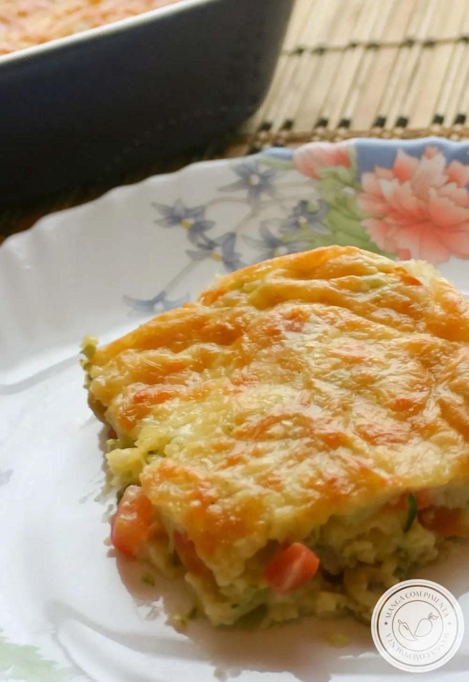 Torta de Abobrinha - uma torta para o almoço | jantar ou para um lanche da tarde!