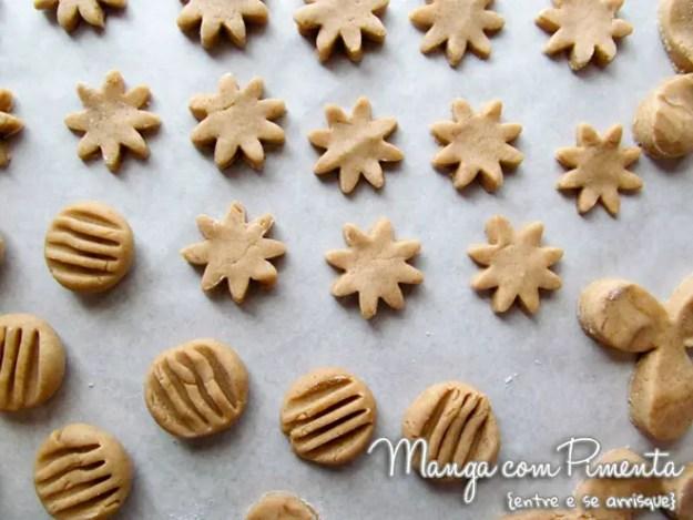 Biscoitos de Canela e Chocolate {Receitas de Natal}