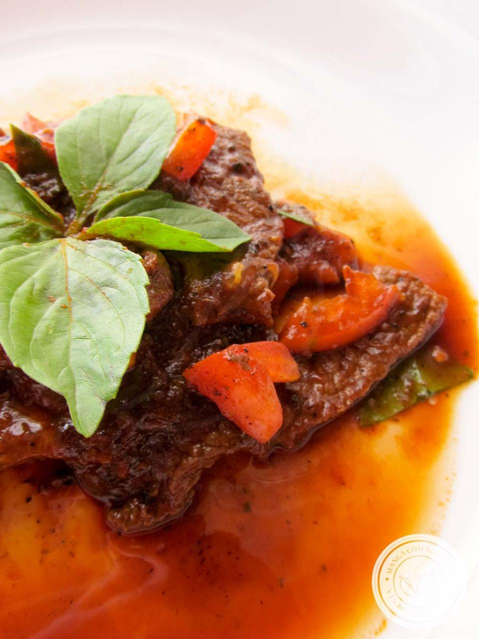 Receita deCarne à Moda Italiana - um prato delicioso para refeição da família!