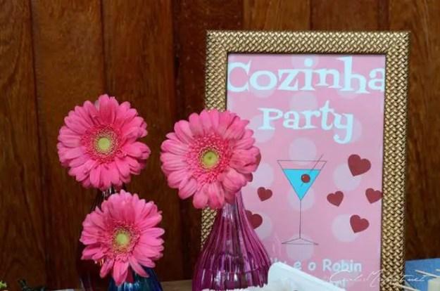 Chá Party da Polly {Chá de Cozinha}