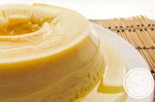 Pudim de Laranja feito no Micro-ondas - sobremesa para fazer bonito no almoço da família ou em datas comemorativas.
