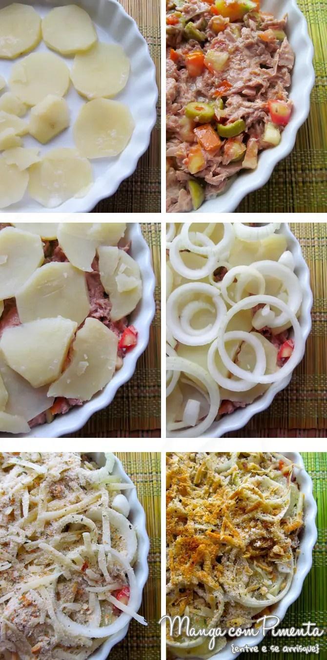 Atum ao Forno - um delicioso prato para o final de semana.