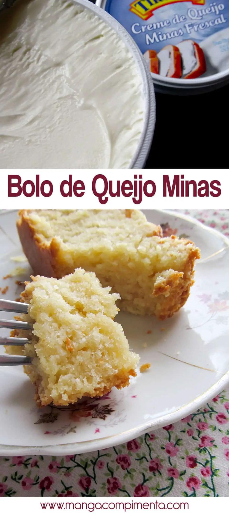 Bolo de Queijo Minas - Para o chá da tarde!