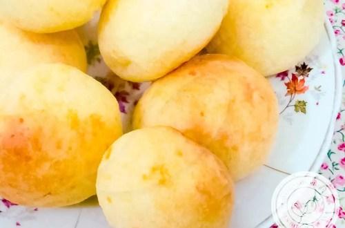 Pão de Queijo Tradicional -Para o lanche da tarde com a família!