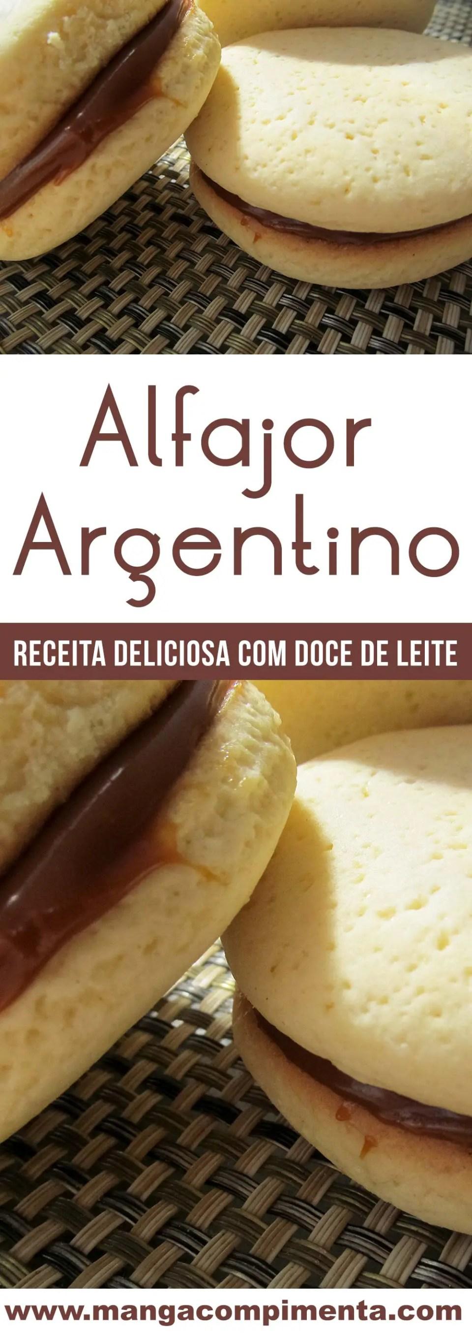 Alfajor Argentino - um doce caseiro delicioso dos nossos hermanos!