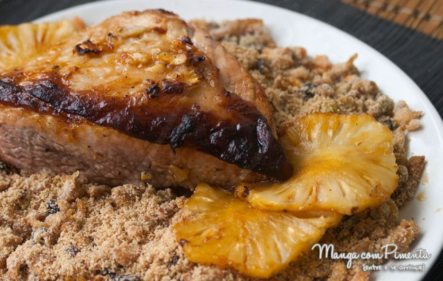 Picanha Suína ao molho de abacaxi {Cardápio para Ano Novo ou Natal}