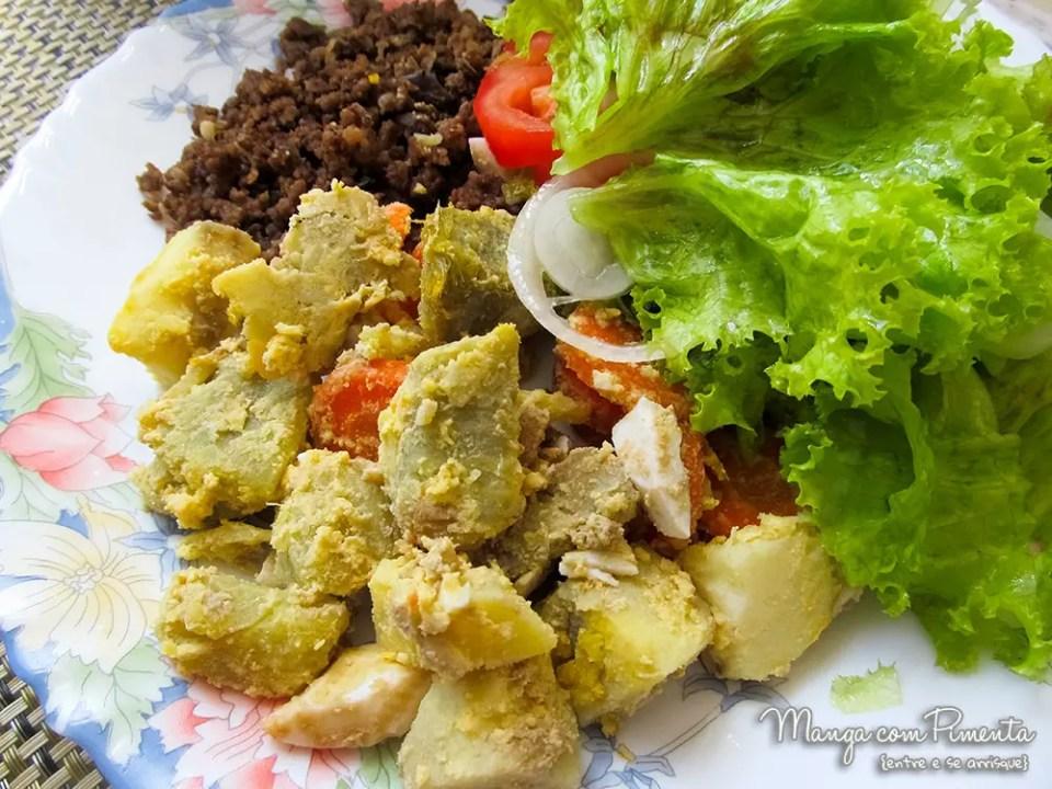 Salada Russa de Batata Doce