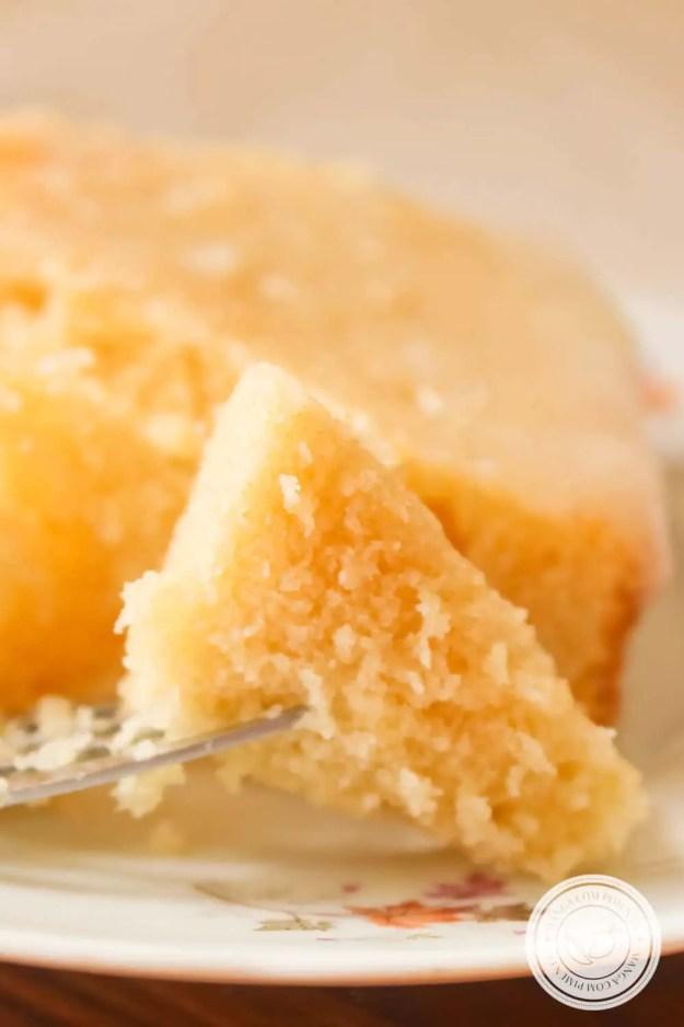 Receita do Bolo Delícia de Limão da Rita Lobo - prepare para o chá da tarde nesse final de semana.