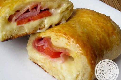 Bauruzinho de Forno - um lanche delicioso para o fim de tarde com toda a família.