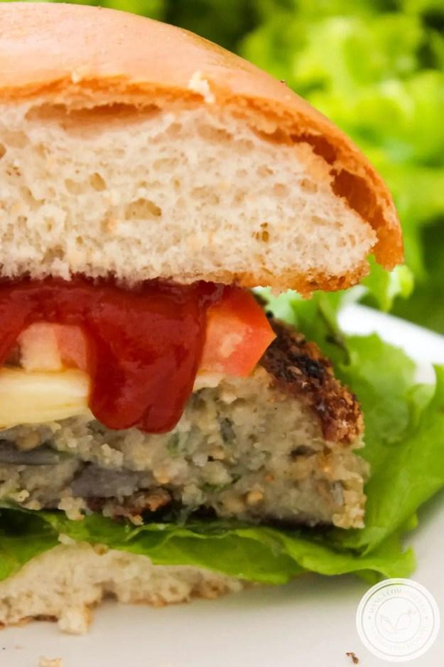 Receita de Lanche Vegetariano