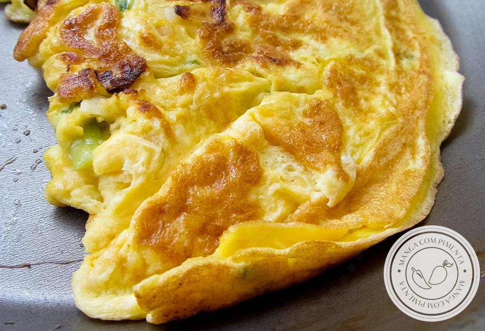Omelete Simples - faça para as refeições do dia a dia!