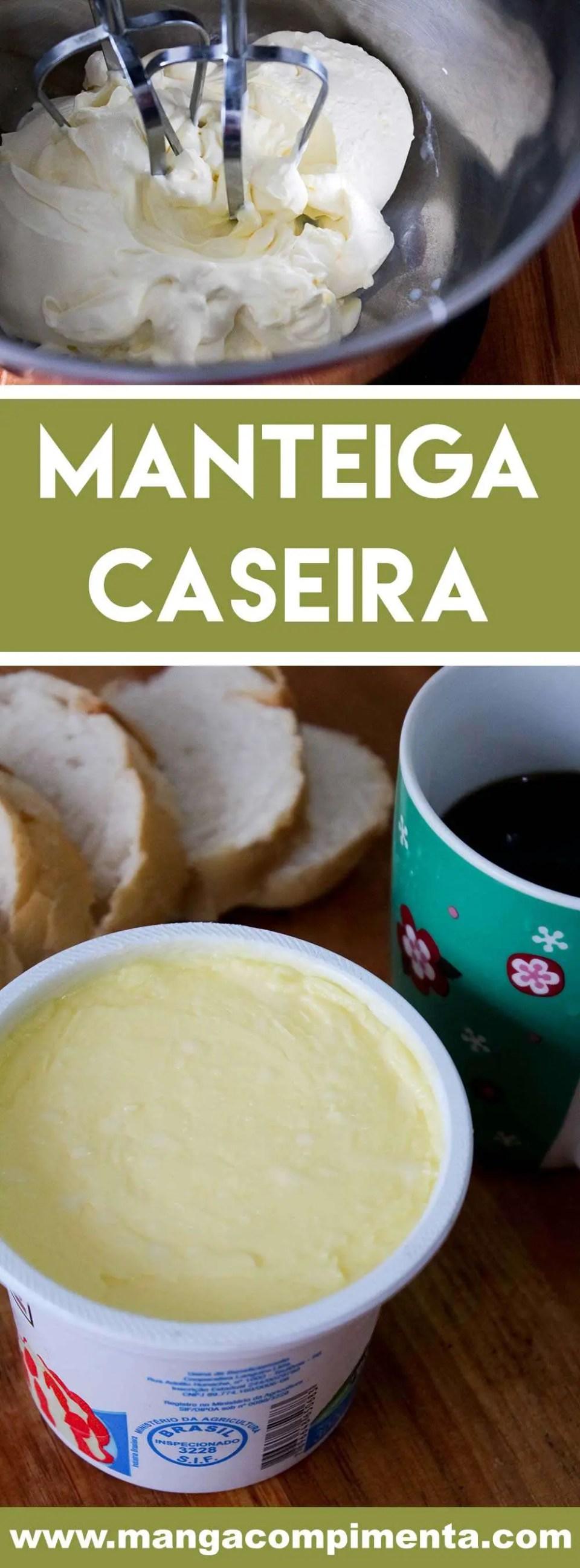 Aprenda a Como fazer Manteiga Caseira - veja como éfácil preparar essa delícia em casa.