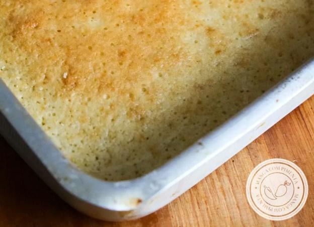 Massa de Pão de Ló   Aprenda uma massa base para qualquer sobremesa!